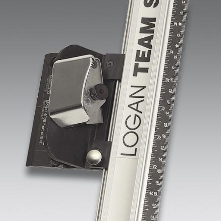 Kit regla aluminio + Cortadora manual passepartout Logan 4000