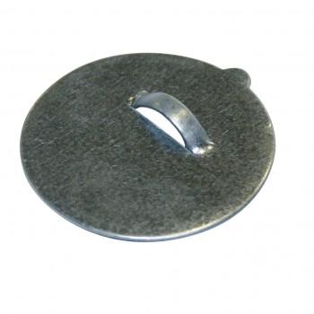 Penjador adhesiu metàl.lic rodó 42 mm 1,5kg