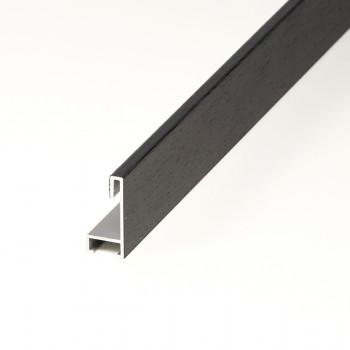Aluminio chapado maple tinte negro