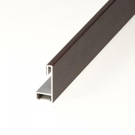 Aluminio chapado wenghe oscuro