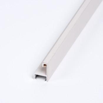 Aluminio chapado roble tinte Blanco