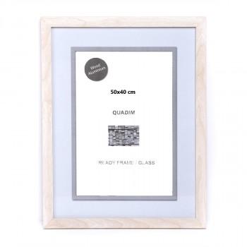 Marco standard Blanco/Gris 21x29,7