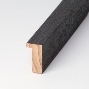 Moldura Rústica patina negra