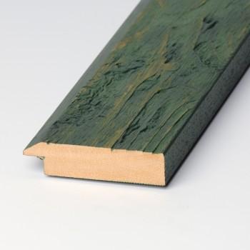 Moldura Madera rústica verde