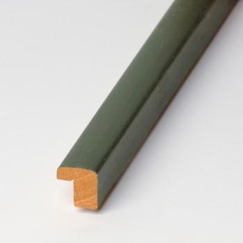 Moldura Plana tinte verde claro