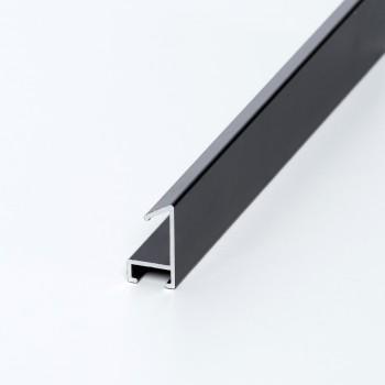 Aluminio negro mate