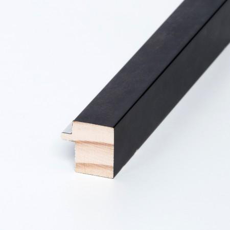 Negro filo plata