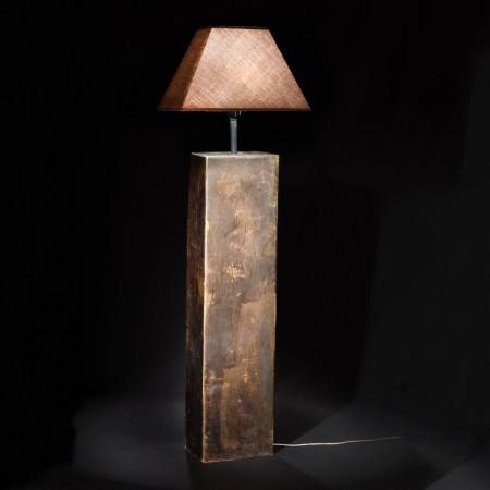 Lámpara Viga óxido 95 x 24 x 16
